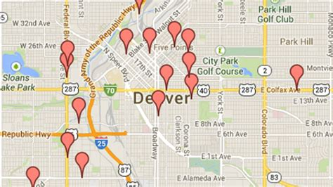 map of retail marijuana stores in denver fox31 denver