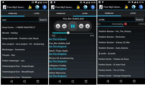 free mp3 app android downloaders top 10 free mp3 downloader android apps