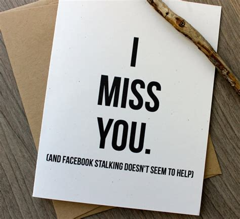 i miss you card i miss you card thinking of you