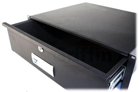 rack mount drawer 3u 3u rack mount studio gear sliding drawer shelf 16 quot deep