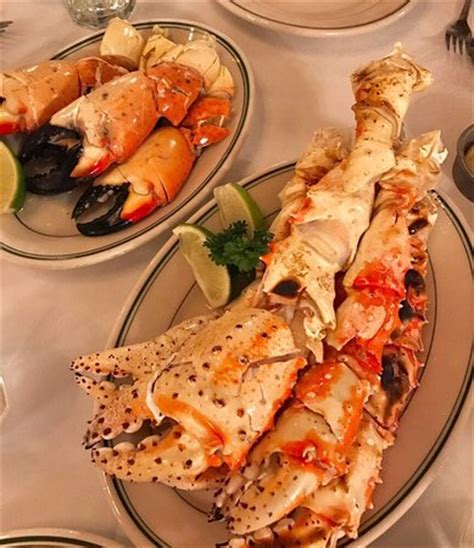 broiled king crab legs crabs and grilled king crab legs picture of joe s crab miami tripadvisor