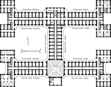 prison floor plan west of farringdon road british history online