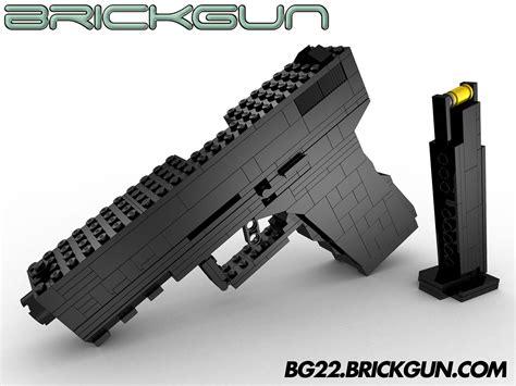 lego destiny tutorial the brickgun lego 174 bg22 with magazine our handgun model