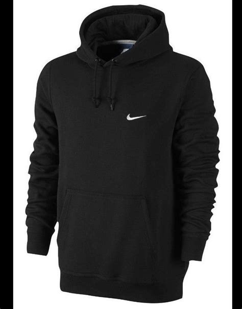 Hooded Fleece Lined Pullover new nike mens black pullover fleece lined hooded hoodie