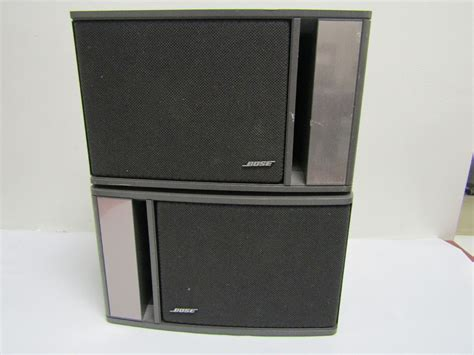 bose model 141 bookshelf stereo speaker set home stereo