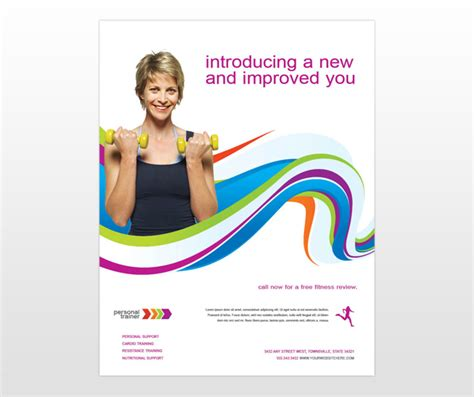 templates for personal training flyers personal trainer personal fitness trainer flyer