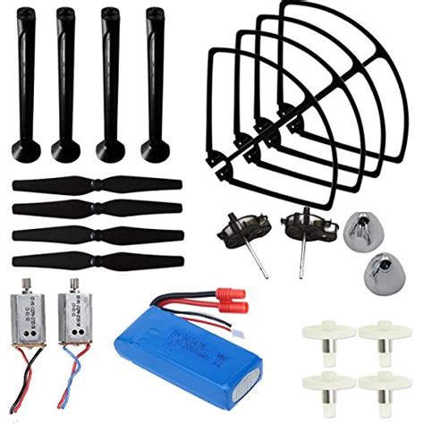Sparepart Landing Gear Syma X8c X8w Tanpa Diskon avawo 174 upgraded syma x8c x8w x8g venture spare parts kit crash pack blade propellers