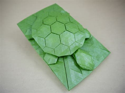 Origami Tortoise - a shellebration of turtley amazing origami turtles and