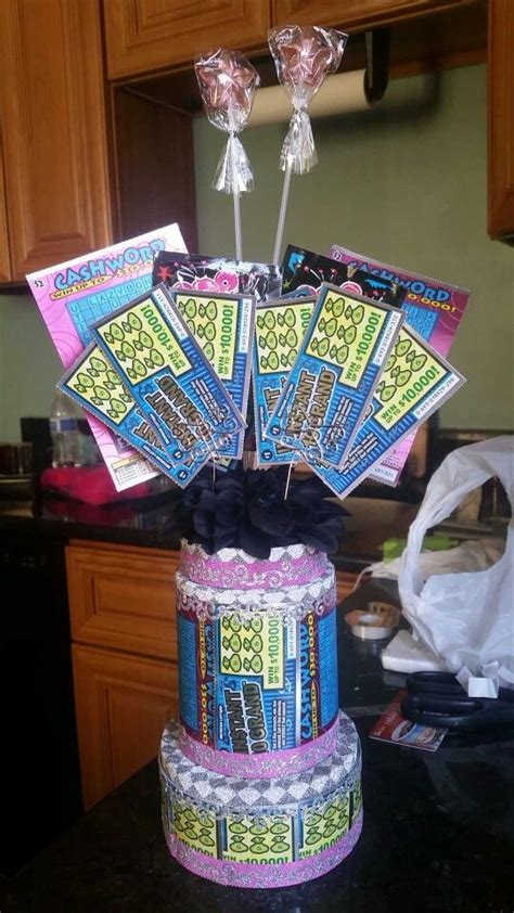 Lottery Ticket Cake Creations Pinterest Cakes