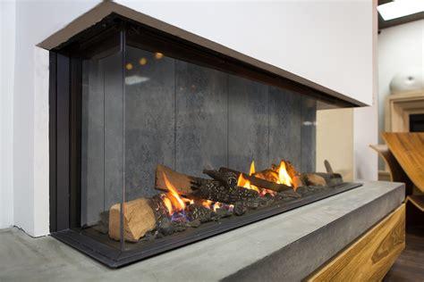 moderne feuerstellen new designer interior for modern gas fireplaces concrete
