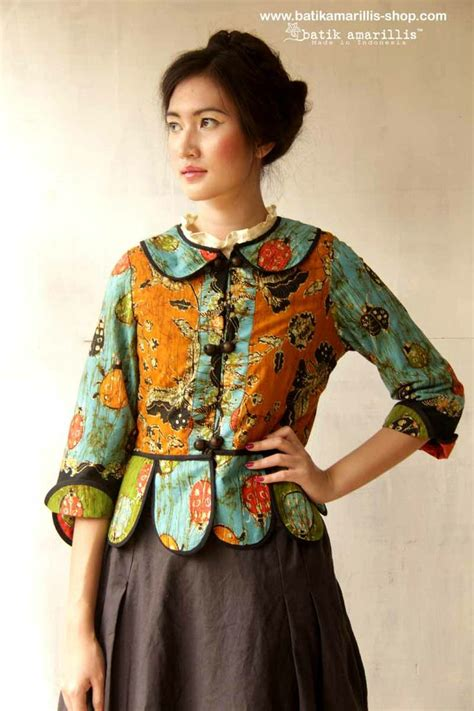 Vest Outer Batik 1000 images about batik amarillis primavera on vests traditional and folklore