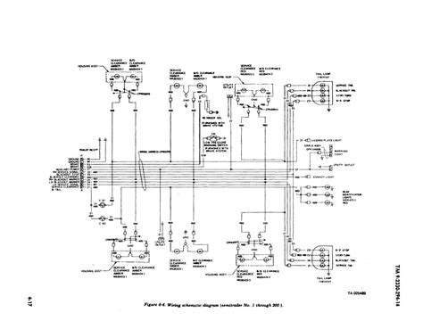 wiring diagram for semi trailer the and on tractor