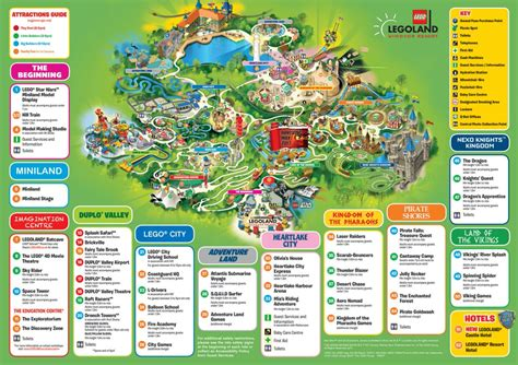 Printable Map Legoland Windsor | legoland windsor resort general discussion page 28