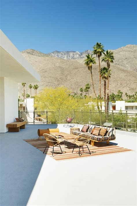 palm springs modern furniture palm springs the ace hotel way to reviving desert