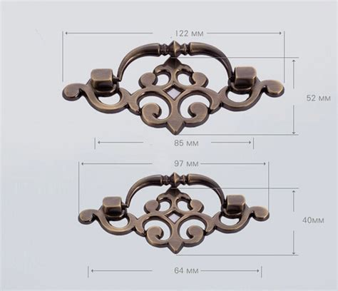 vintage metal kitchen cabinet hardware 10pcs zinc alloy ancient kitchen cabinets pulls handle