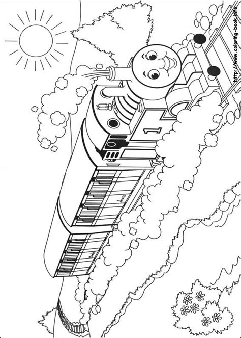 thomas  friends coloring picture mural ideas