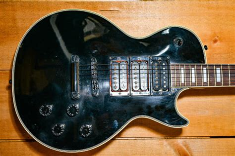 Kaos Band 1976 ibanez les paul custom 1976 black reverb