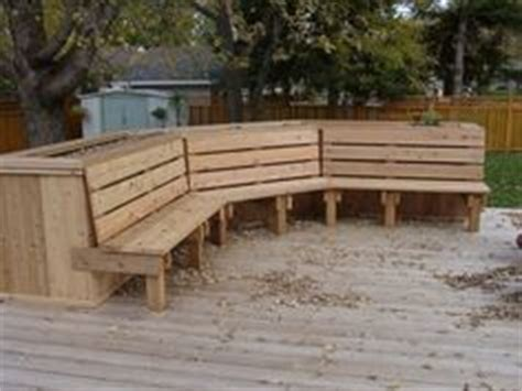 deck bench planter 1000 images about deck ideas on pinterest mobile home porch decks and porches