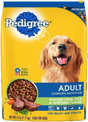 lamb and rice flavor adult dog food | pedigree®