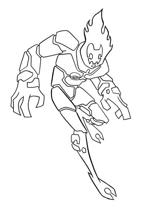 ben 10 coloring book free printable ben 10 coloring pages for