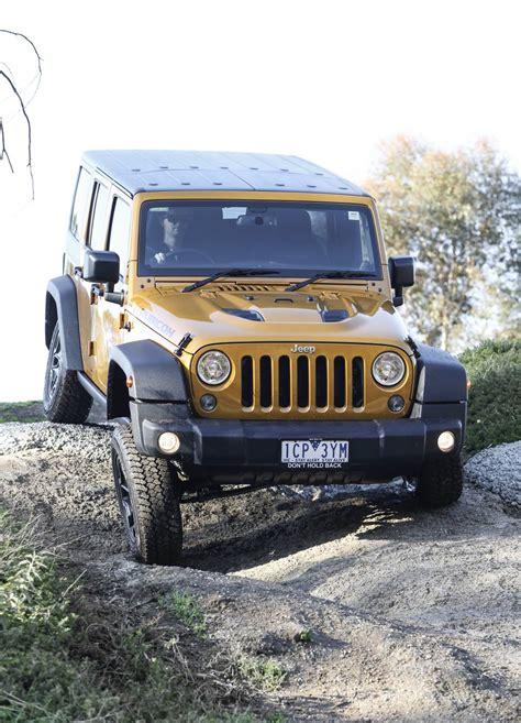 Jeep G Jeep Wrangler Rubicon X To Debut At Australasian Safari