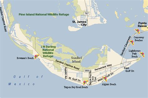 sanibel island map sanibel island map free printable maps