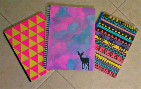 decorar cuadernos diy diy decora tus cuadernos f 193 cil y bonito colegio