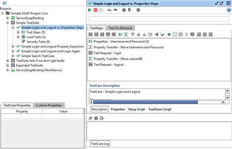 test suite template structuring and running tests functional testing