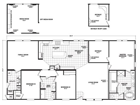 The Pecan Valley Iii Hi3268a Manufactured Home Floor Plan   the pecan valley iii hi3268a home floor plan