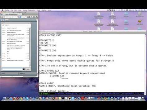 Mumps Programmer by Mumps Class 2 20130820