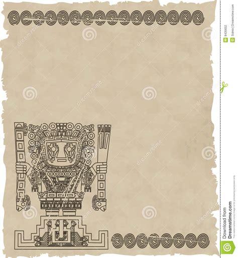 imagenes de simbolos incas vector los s 237 mbolos tribales mayas y del inca en el papel