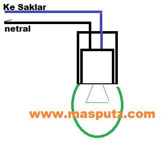 Fitting Gantung Saklar Dengan Kabel 3 Meter freedom cara memasang instalasi listrik rumah sendiri dengan mudah