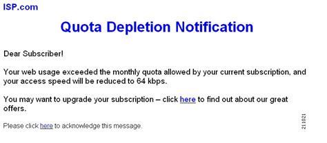 quota design definition service creation integration periodic quota based services