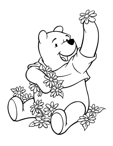 imagenes de winnie pooh solo para colorear dibujos de winnie pooh para colorear pintar e imprimir gratis