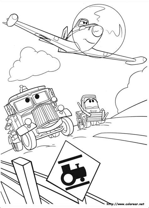 Planes Fire And Rescue Coloring Pages Windlifter