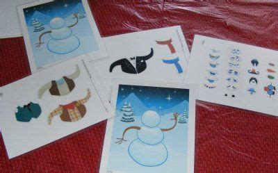 snowman dress up busy bag fun with mama ten kids and a dog tools for tots build a snowman
