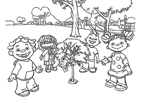 kid coloring pages sid the science kid coloring pages to and print