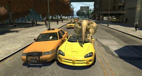 Gta 4 Auto Kaufen by Kurios Als Elefant Durch Liberty City News