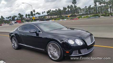 bentley san diego bentley continental spotted in san diego california on 12