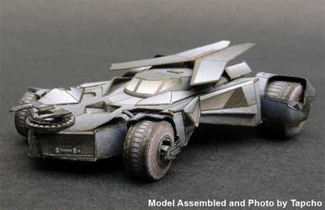 Batmobile Papercraft - new paper craft batman 2015 batmobile free vehicle