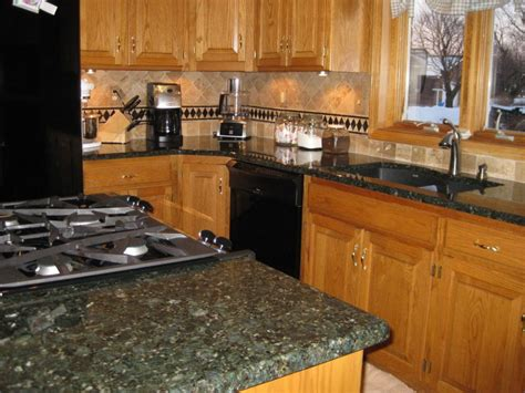 Green Kitchen Islands Verde Butterfly Granite Pictures And Ideas