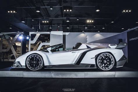 galaxy lamborghini veneno white lamborghini veneno roadster is a devil in a new dress