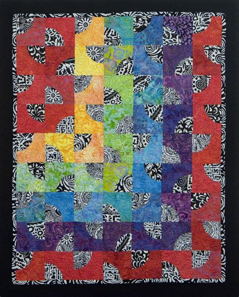 art quilt pattern create dazzling contemporary art quilts with craftsy kits