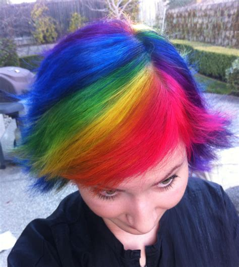 rainbow hairstyling my rainbow hair 2 by nee chan on deviantart