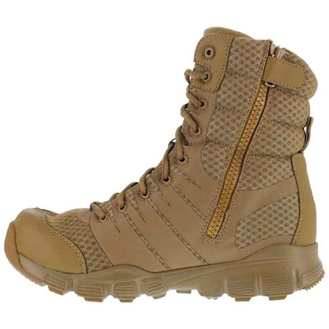 coyote brown boots reebok dauntless ultra light 8 inch coyote boot rb8721