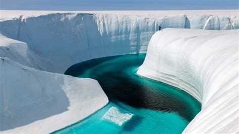 western canadas ice age melt offers preview  modern
