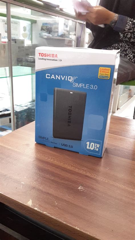 Hardisk Toshiba Canvio Simple 1tb toshiba hdd canvio simple 1tb
