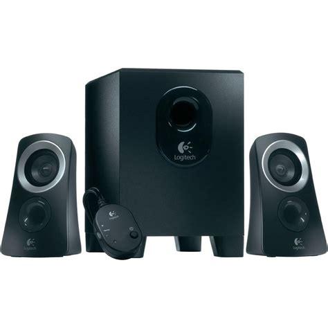 Speaker Komputer 2 1 pc speaker corded logitech speaker system z313 from