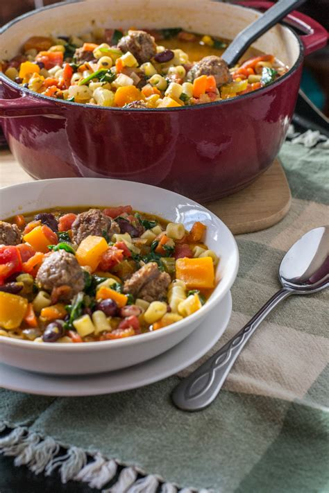 bratwurst soup bratwurst minestrone what the forks for dinner
