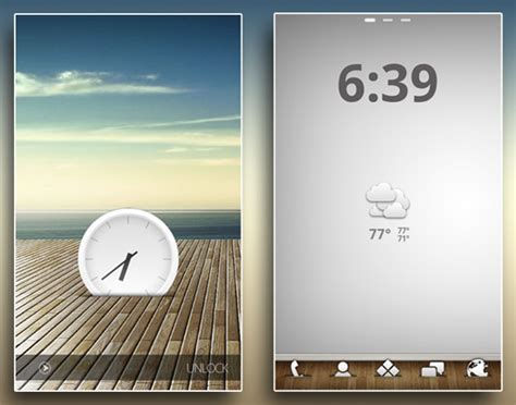35 creative android ui home screens for your inspiration